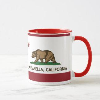 California Republic Flag Lake Isabella Mug