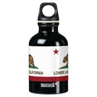 California Republic Flag Lower Lake Aluminum Water Bottle