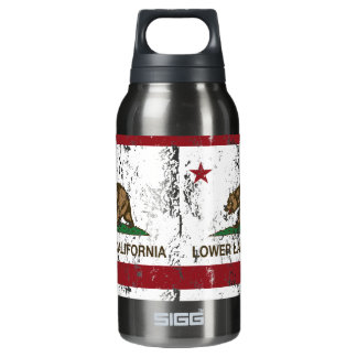 California Republic Flag Lower Lake Insulated Water Bottle