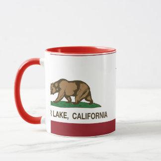 California Republic Flag Lower Lake Mug