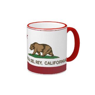 California Republic Flag Marina Del Rey Coffee Mug