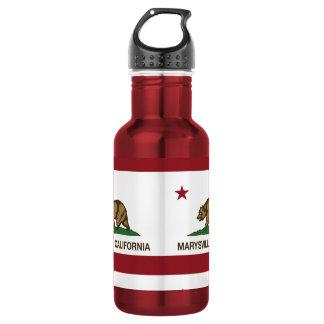 California Republic Flag Marysville Water Bottle