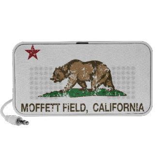 California Republic Flag Moffett Field Speaker