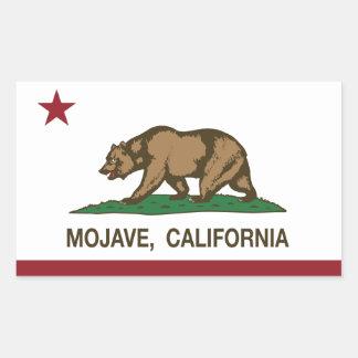 California Republic Flag Mojave Rectangular Sticker
