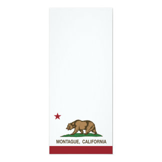 California Republic Flag Montague Card