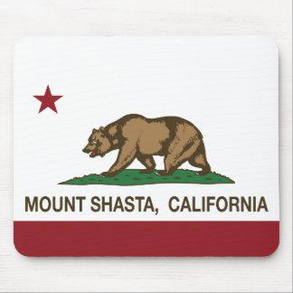 California Republic Flag Mount Shasta Mouse Pad
