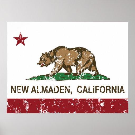 California Republic Flag New Almaden Poster