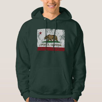 California Republic Flag Oroville Hoodie