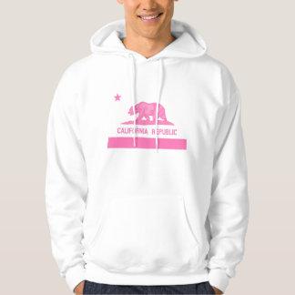 California Republic Flag (Pink) Hoodie