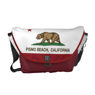 California Republic Flag Pismo Beach Courier Bag