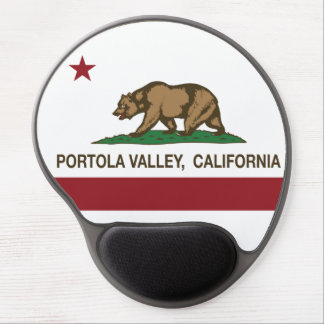California Republic Flag Portola Valley Gel Mouse Pad
