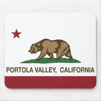 California Republic Flag Portola Valley Mouse Pad