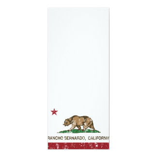 California Republic Flag Rancho Bernardo Card