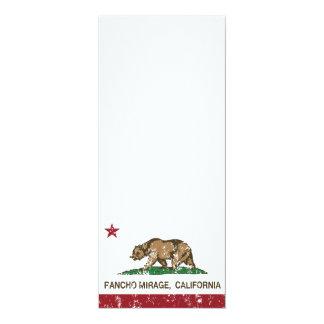 California Republic Flag Rancho Mirage Card