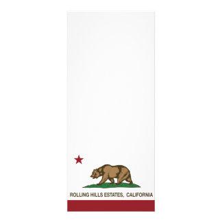 California Republic Flag Rolling Hills Estates Invites