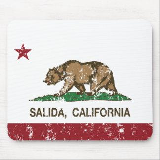 California Republic Flag Salida Mouse Pad