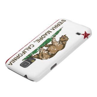 California Republic Flag Sierra Madre Galaxy S5 Cases