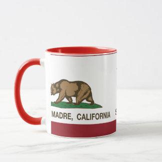 California Republic Flag Sierra Madre Mug