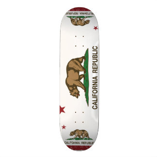 California Republic Flag Skateboard Deck