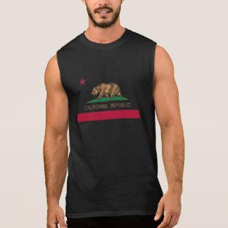 California Republic flag sleeveless tank top