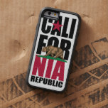 California Republic Flag Stack Tough Xtreme iPhone 6 Case