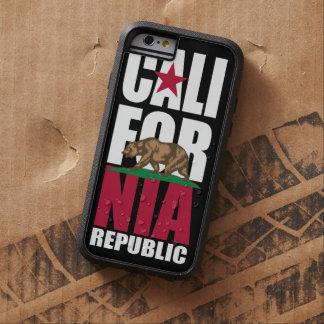 California Republic Flag Stacker Tough Xtreme iPhone 6 Case