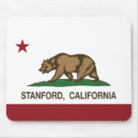 California Republic Flag Stanford Mouse Pad