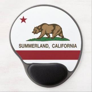 California Republic Flag Summerland Gel Mouse Pad