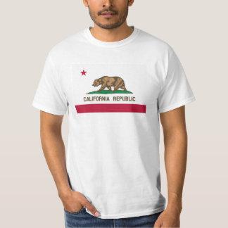 California Republic flag t shirts