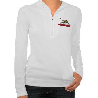 California REpublic Flag Tahoe City Hooded Sweatshirts