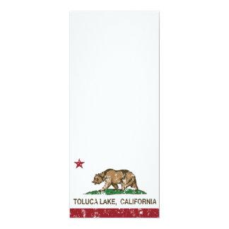 California Republic Flag Toluca Lake Card