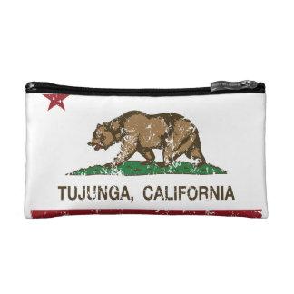 California REpublic Flag Tujunga Makeup Bag