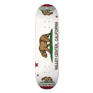 California Republic Flag Valley Center Skate Board Deck