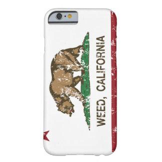 California Republic Flag Weed iPhone 6 Case