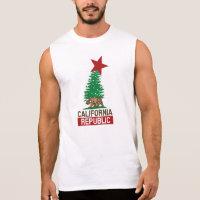 California Republic for the Holidays Sleeveless T-shirt