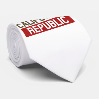 California Republic for the Holidays style Tie