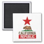 California Republic Fridge Magnet