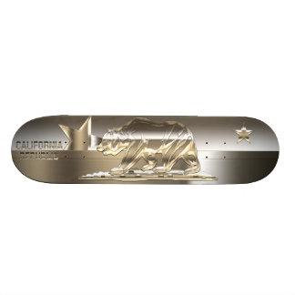 CALIFORNIA REPUBLIC Golden Metals Skateboard