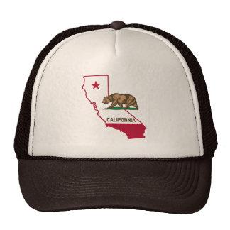 California Republic Grizzly Bear Hat