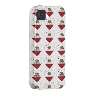 California Republic Heart iPhone 4/4S Covers