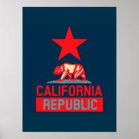 California  Republic Hope Poster