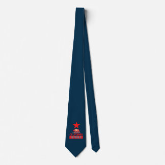 California Republic in Style Neck Tie