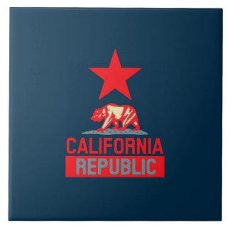 California Republic in Style Tile