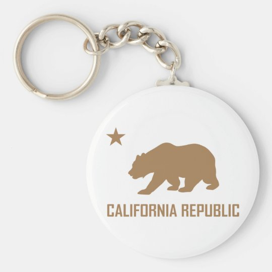 California Republic Keychain