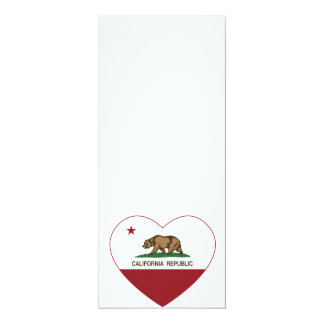 California Republic Love California Heart Card