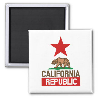 California Republic Fridge Magnet