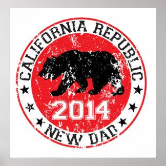 california republic new dad 2014 print