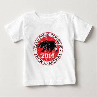 california republic new grandma 2014 baby T-Shirt