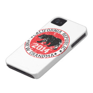california republic new grandma 2014 iPhone 4 Case-Mate cases