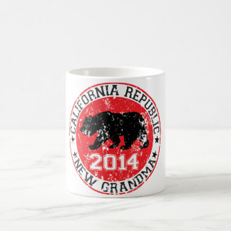 california republic new grandma 2014 classic white coffee mug